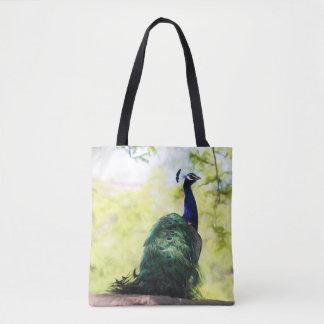 Beautiful Peacock Tote Bag