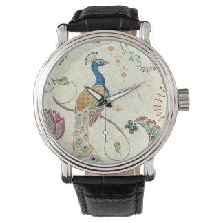 Beautiful Peacock Watch