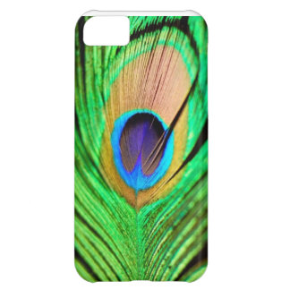 Beautiful Peapock Wing iPhone 5C Case
