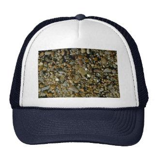 Beautiful Pebbles from Isla Bartholome, Galapagos Mesh Hat