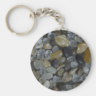 Beautiful Pebbles from Simpson Pt Arago Sand Keychains