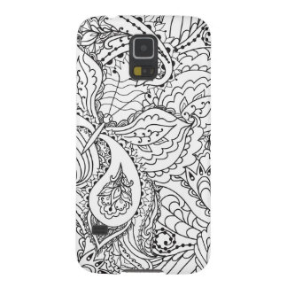 Beautiful Pensel art phone cover Cases For Galaxy S5
