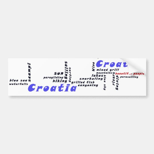 Beautiful people - bumper sticker