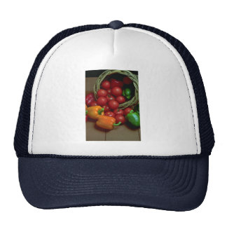 Beautiful Peppers and tomatoes Mesh Hat