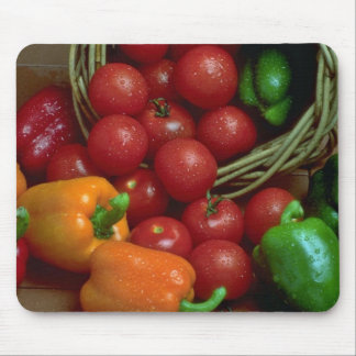 Beautiful Peppers and tomatoes Mouse Mat
