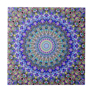 Beautiful Persian Blue Kaledoscope Tile