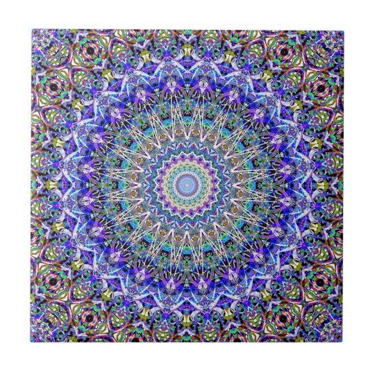 Beautiful Persian Blue Kaledoscope Tile
