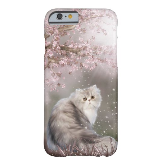 Beautiful persian kitty cat barely there iPhone 6