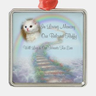 Beautiful Personalised Cat or Dog Memorial Christmas Ornament