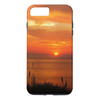 Beautiful Personalized Beach at Sunset Scenery iPhone 7 Plus Case