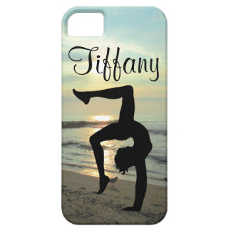 BEAUTIFUL PERSONALIZED GYMNASTICS IPHONE CASE iPhone 5 CASE