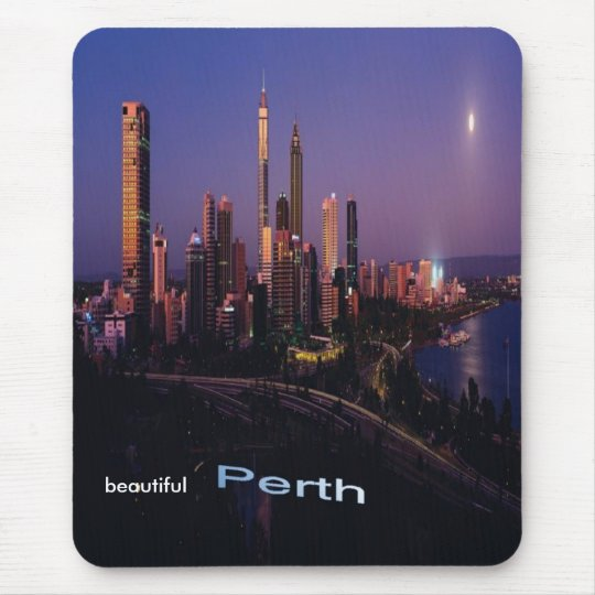 Beautiful Perth, Australia, mousepad. Mouse Mat
