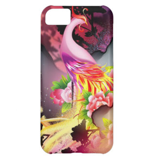 beautiful phoenix bird colourful background image iPhone 5C case