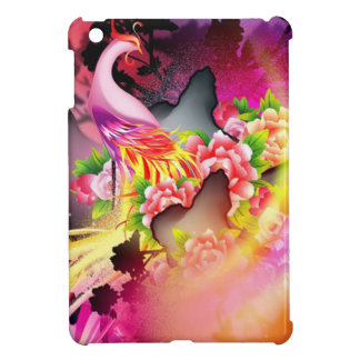 beautiful phoenix on colourful effects case for the iPad mini