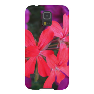 Beautiful phone case decorated with flowers