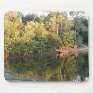 Beautiful Photo of the Mississippi River Mouse Pad