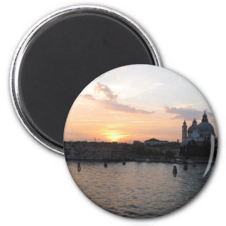 Beautiful photograph of Venice lagoon landscape Magnet