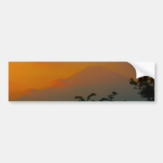 Beautiful Picture of Mt. Fuji in Japan Bumper Sticker