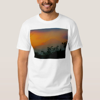 Beautiful Picture of Mt. Fuji in Japan Tshirts