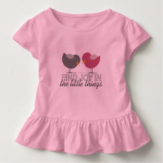 Beautiful Pink Birds Cute Girly Simple Adorable Toddler T-Shirt