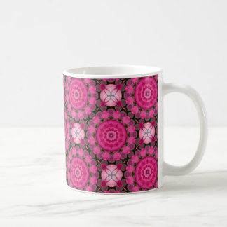 Beautiful pink Blossoms 001F 04, Nature Mandala Coffee Mug
