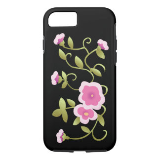 Beautiful Pink Chinese Floral Fine Art iPhone 7 Case