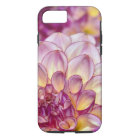 Beautiful pink dahlia flowers iPhone 8/7 case