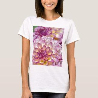 Beautiful pink dahlia flowers T-Shirt