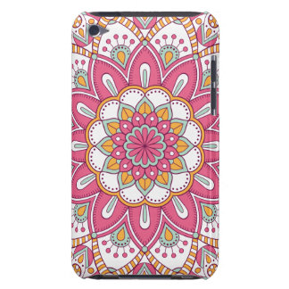 Beautiful pink Flower Design Barely There iPod Cover