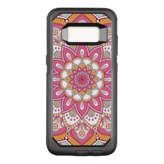 Beautiful pink Flower Design OtterBox Commuter Samsung Galaxy S8 Case