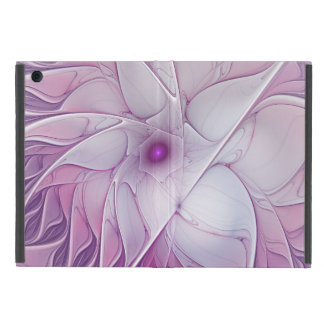 Beautiful Pink Flower Modern Abstract Fractal Art iPad Mini Covers