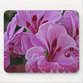 Beautiful Pink Flowers Mousepad
