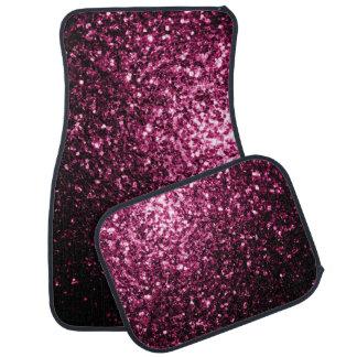 Beautiful Pink glitter sparkles Car Mat