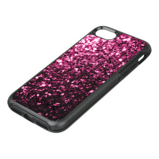 Beautiful Pink glitter sparkles OtterBox Symmetry iPhone 8/7 Case