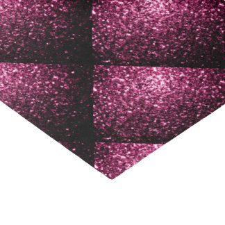 Beautiful Pink glitter sparkles tiled pattern Tissue Paper