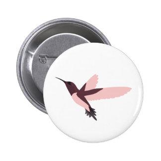 Beautiful Pink Hummingbird Pins