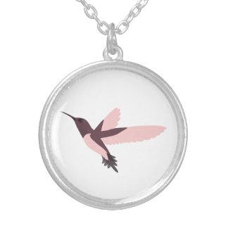 Beautiful Pink Hummingbird Necklaces