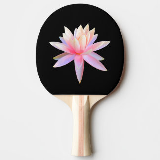 Beautiful Pink Lily Lotus Art Cool Unique Ping Pong Paddle