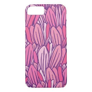 Beautiful pink Magnolia Design iPhone 7 Case
