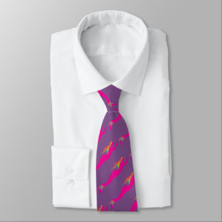 beautiful pink mermaids any color tie