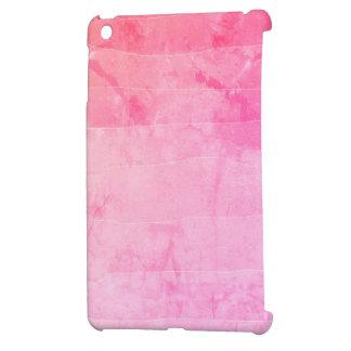 Beautiful pink ombre batik marbled case iPad mini case