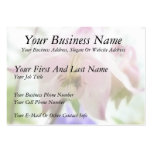 Beautiful Pink Petals - Aquilegia Large Business Cards (Pack Of 100)