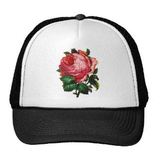 BEAUTIFUL PINK ROSE HATS