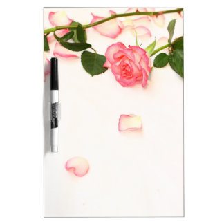 Beautiful pink roses Dry-Erase board