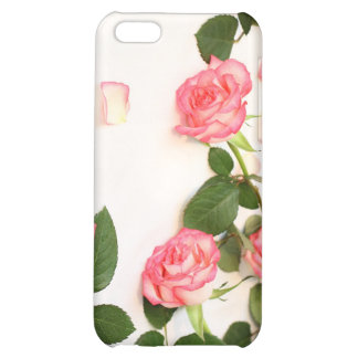 Beautiful pink roses iPhone 5C cover
