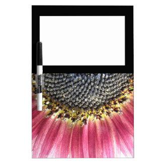 Beautiful Pink Sunflower Memo Board