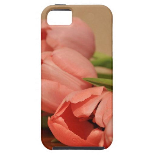 BEAUTIFUL PINK TULIPS iPhone 5 CASES