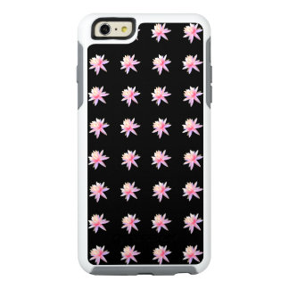 Beautiful Pink White Lotus Flower Pattern Trendy OtterBox iPhone 6/6s Plus Case
