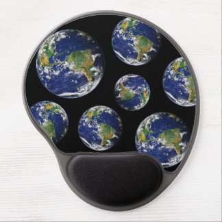 Beautiful Planet Earth Gel Mouse Pad