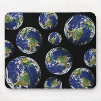 Beautiful Planet Earth Mouse Pad